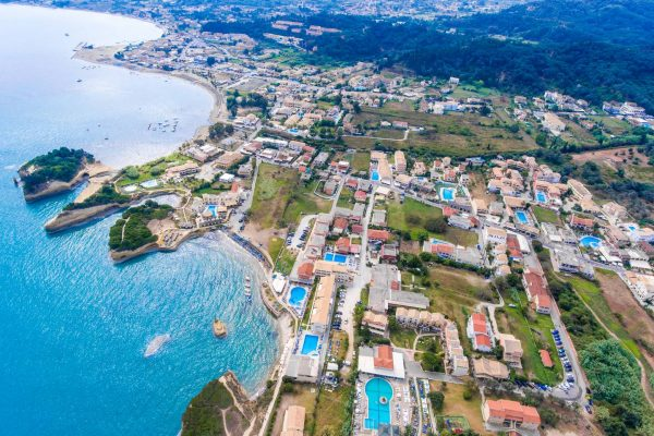 Sidari, Corfu, Greece. Famous for it's beaches and magnificent clifs.